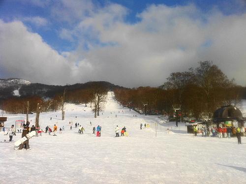 スノボー たんばらスキーパーク