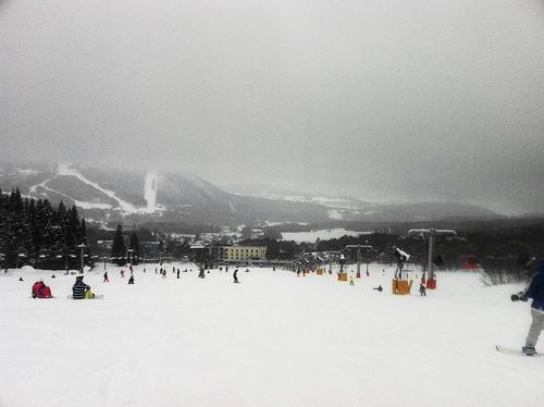 スノボー 北志賀小丸山スキー場