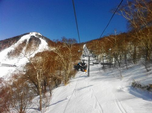 スノボー 川場スキー場