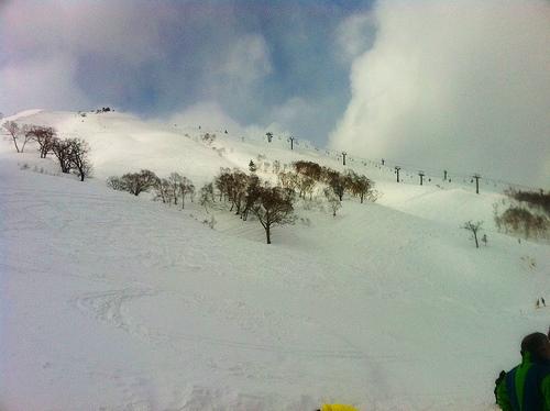 スノボー 苗場スキー場