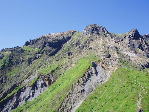【北アルプス】上高地~焼岳 夜行バスで行く日帰り登山