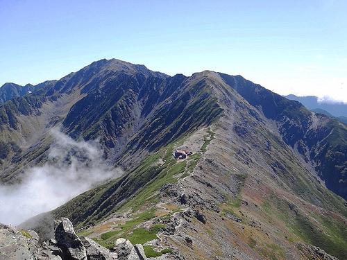 北岳~間ノ岳縦走(南アルプス) 山小屋泊登山