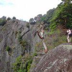 【秀麗富嶽十二景】稚児落し~岩殿山 岩場と絶壁の日帰り登山