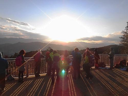 冬の景信山~城山~高尾山 ダイヤモンド富士を求めて日帰り登山