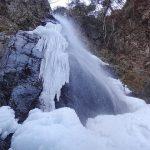 冬の川苔山・百尋ノ滝の氷瀑