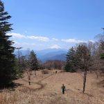 雁ヶ腹摺山からの富士山