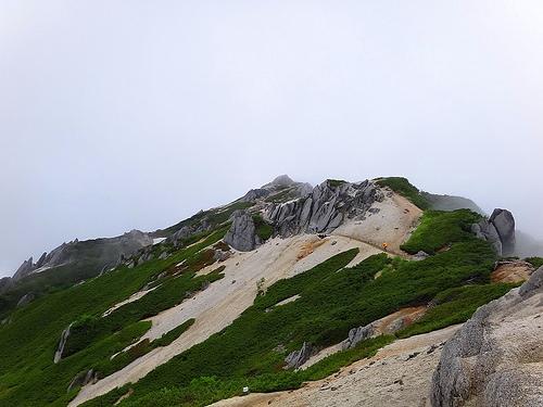 燕岳(北アルプス) 夜行バスで行く日帰り登山