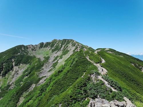 仙丈ヶ岳・甲斐駒ヶ岳 (南アルプス・テント泊登山) 1日目・仙丈ヶ岳
