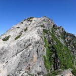 摩利支天から見る甲斐駒ヶ岳
