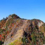紅葉の皇海山・鋸山