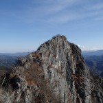 二子山(秩父) 日帰り登山  ―― 鎖場と大迫力の岩稜歩き ――