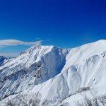 冬の谷川岳 雪山登山 スノーシューハイクで山頂へ(ロープウェイ利用)