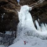 雲竜渓谷(日光) ―― 圧巻の氷瀑・氷柱の世界 ――
