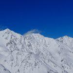 冬の白馬三山