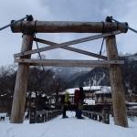 上高地スノーハイク ―― 雪に閉ざされた登山基地 ――