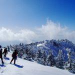 冬の四阿山