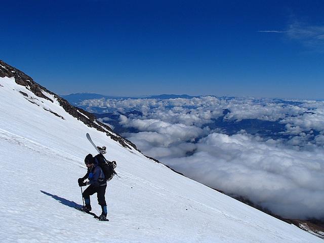富士山 日帰り登山 ~~残雪の富士へ再び挑戦~~