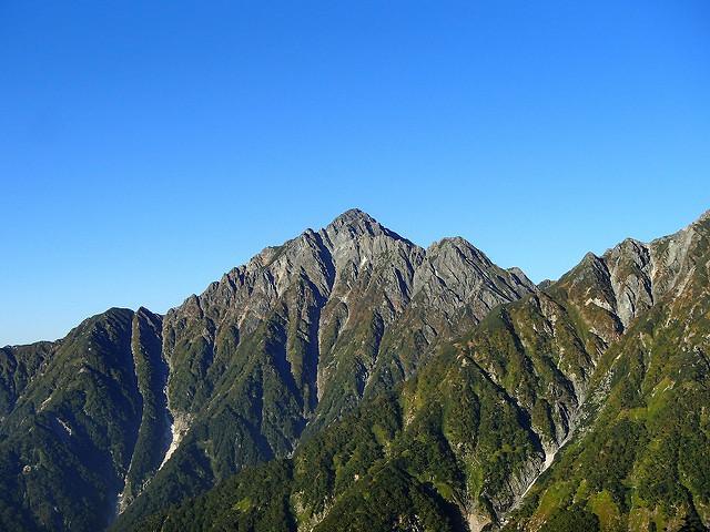 剱岳(北アルプス) テント泊登山 ~~別山尾根から鎖場越えて頂へ~~