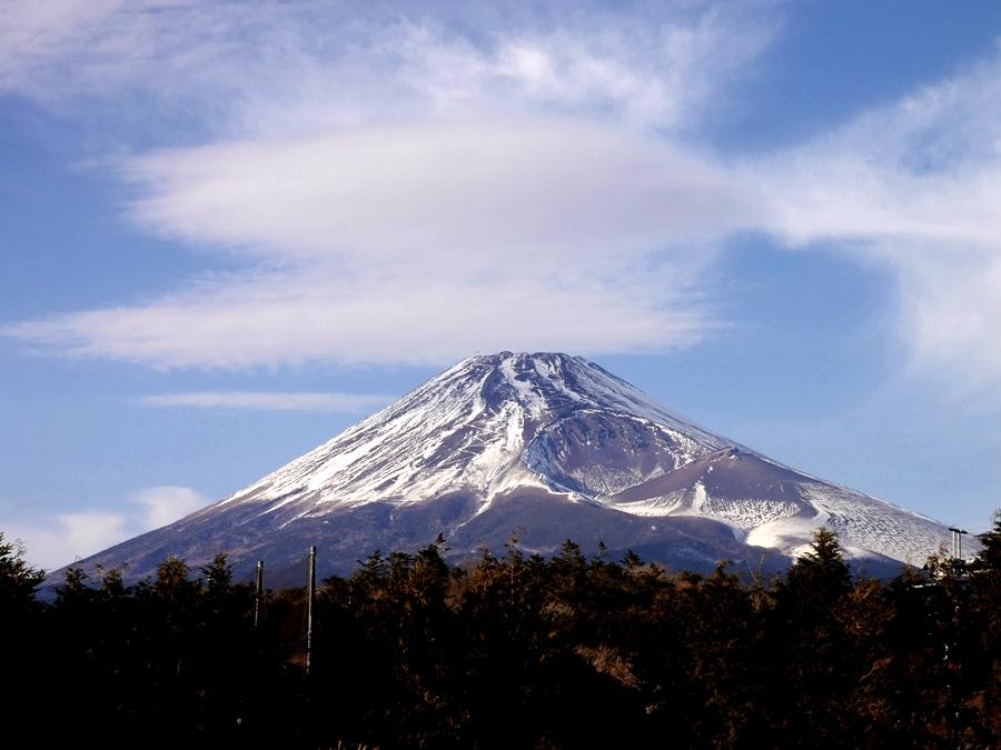 愛鷹山(越前岳) ―― 雑煮と富士山で新年初登り ――