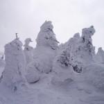 蔵王山 ―― 広大な樹氷めぐり、無数のスノーモンスター ――