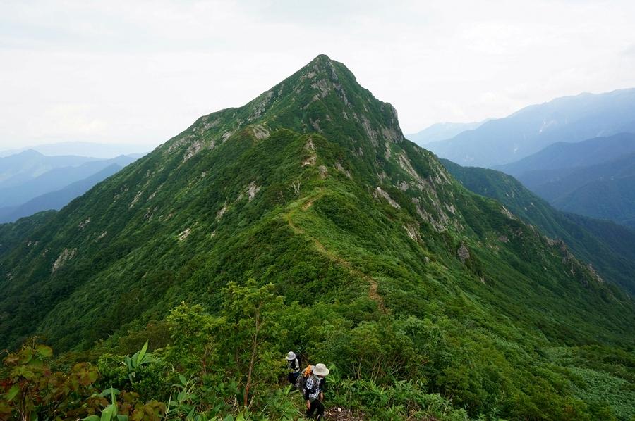 大源太山(谷川連峰) ~~上越のマッターホルンへ日帰り登山~~