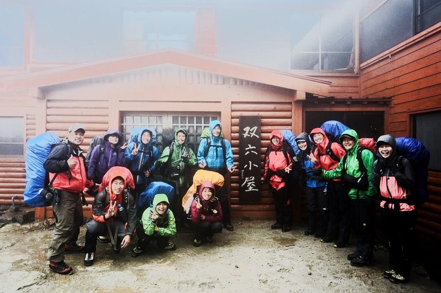 双六岳(北アルプス) 梅雨の残雪時期にテント泊登山