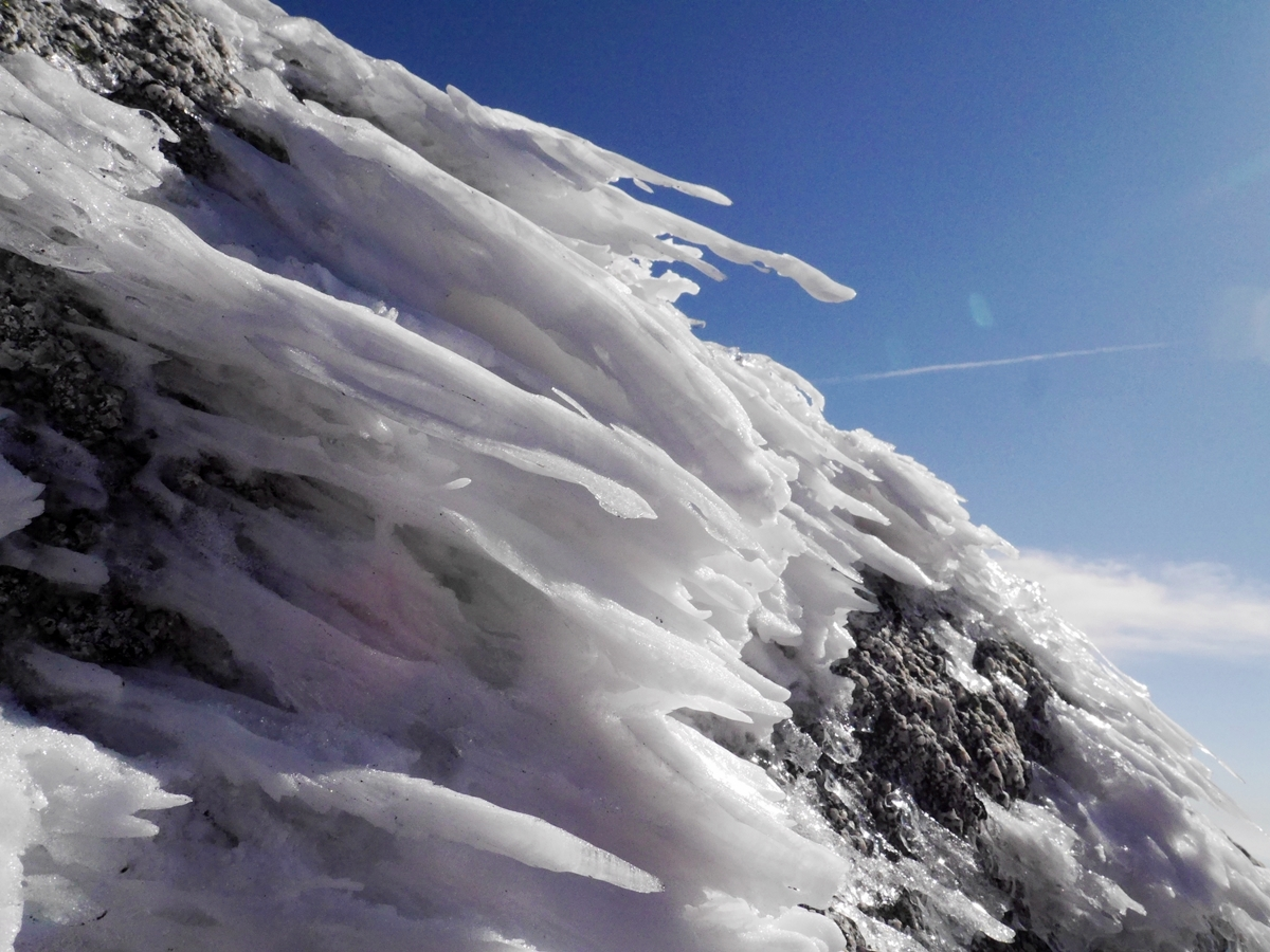 空木岳(中央アルプス) 初冬のアルプスで日帰り雪山登山