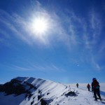浅間山(前掛山) 日帰り雪山登山 ~~冬の青空と大展望~~