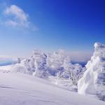 冬の上州武尊山 スノーモンスター雪山登山 (川場スキー場~剣ヶ峰~武尊山)