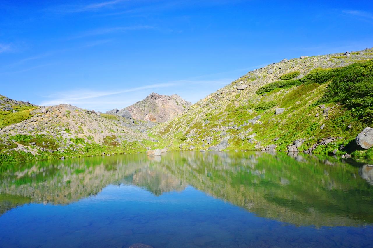 白山~別山~三ノ峰 バスで行くテント泊縦走登山