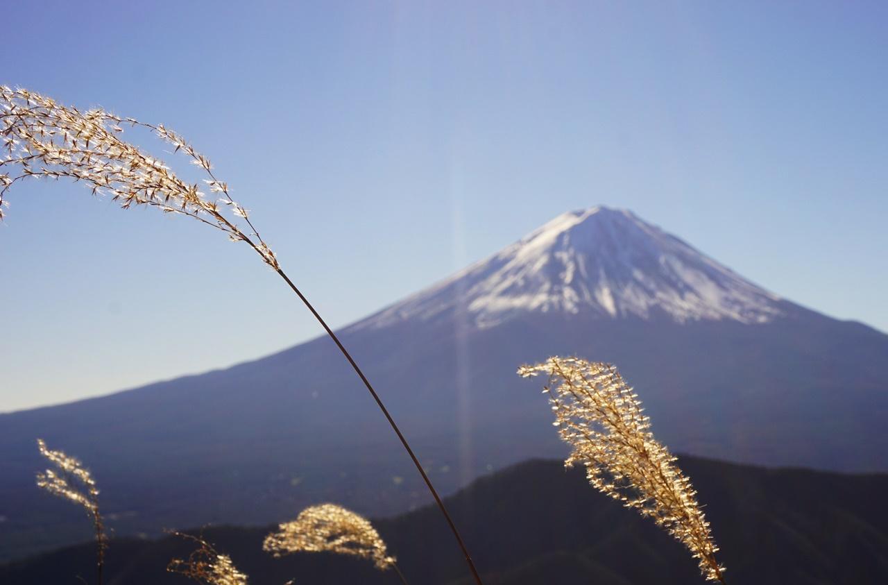 十二ヶ岳 日帰り登山 ~~鎖場・吊り橋、富士山と湖の大展望~~