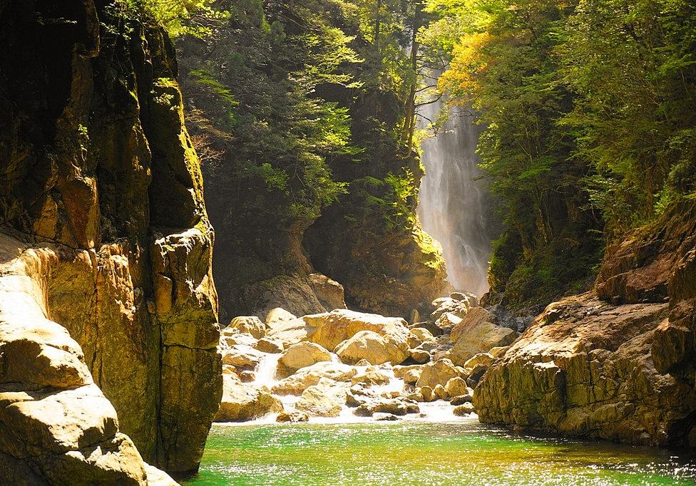 大杉渓谷~大台ヶ原 秘境の峡谷トレッキングと海の大展望登山