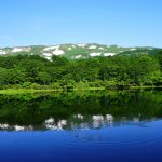 焼石岳・中沼の水鏡