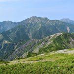 上河内岳からの聖岳