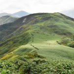中ノ岳~丹後山の稜線