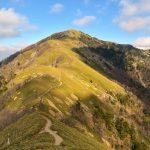 【四国】剣山~一ノ森~次郎笈 紅葉と樹氷と稜線の絶景 縦走登山(1日目)