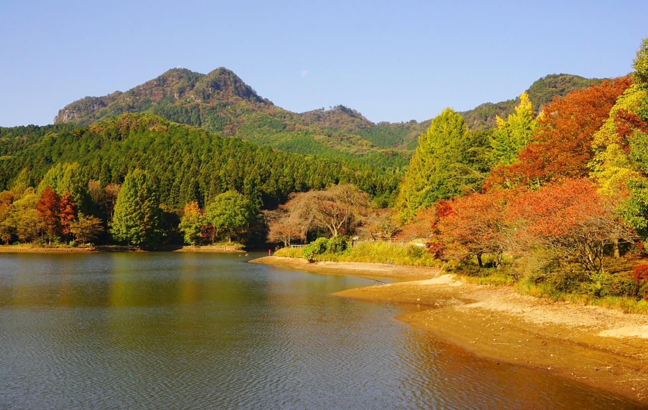 【栃木】古賀志山~赤岩山 岩場・鎖場続きの中尾根コース 紅葉登山