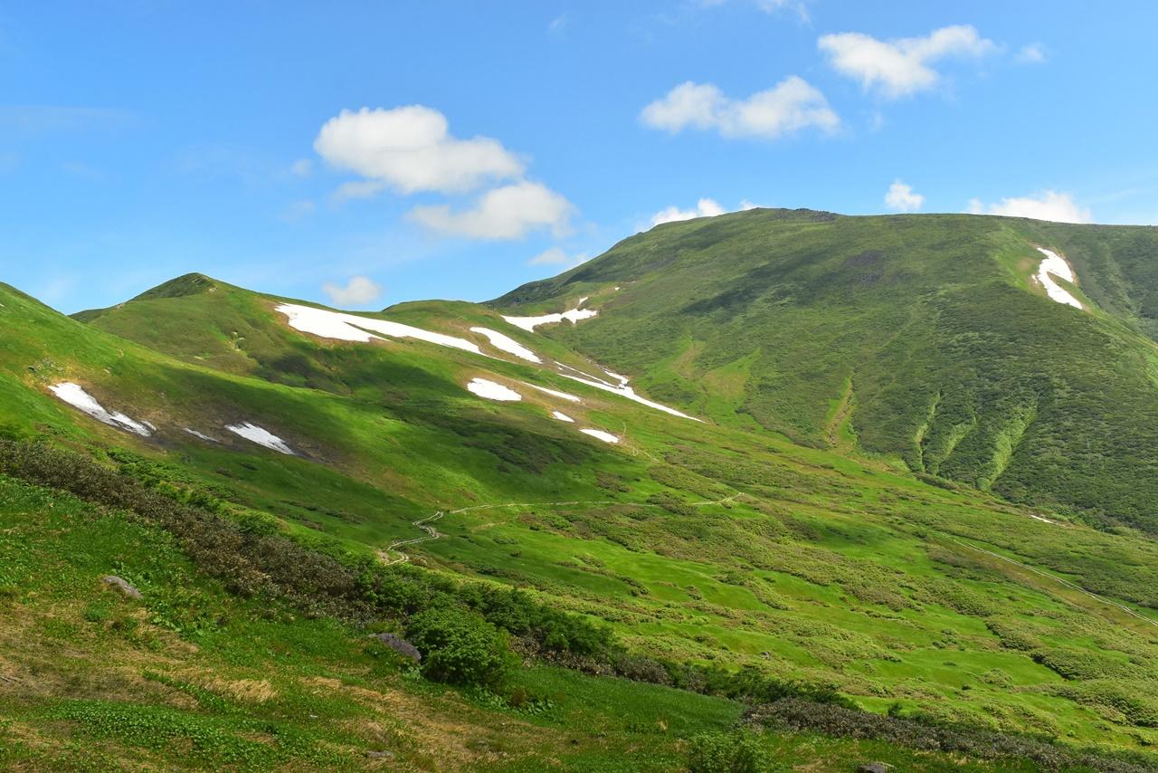 【東北】月山 雄大な稜線と無数のお花畑広がる夏山日帰り登山