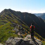 【南アルプス】栗沢山~アサヨ峰 水の山へ日帰り紅葉登山