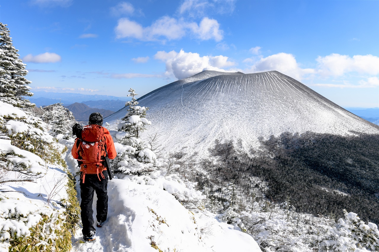 【浅間山】黒斑山~蛇骨岳 樹氷と雲海とプリンの絶景 日帰り雪山登山