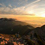 【北アルプス】唐松岳~五竜岳 雲海とご来光の絶景 テント泊縦走登山(2日目)