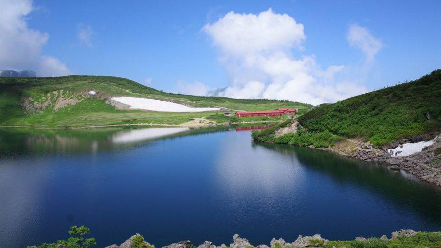 【北アルプス】バスで行く白馬岳 テント泊登山 白馬大池と夕焼けの絶景!