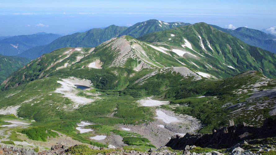 【北アルプス】夏の白馬岳 花満開の絶景稜線へ!テント泊登山(バス利用)