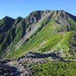 【南アルプス】絶景の稜線!北岳~間ノ岳~農鳥岳 白峰三山縦走登山(バス・電車利用)
