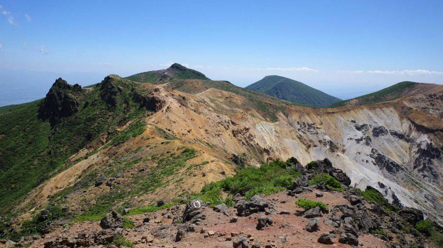 【福島】夏の安達太良山 奥岳~沼尻ルート バスで行く日帰り登山