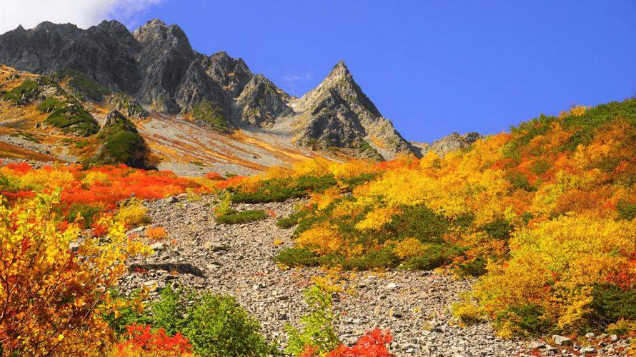 【北アルプス】日本一と言われる涸沢の紅葉