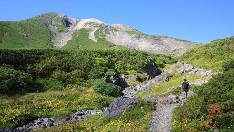 【北アルプス】乗鞍岳(三本滝コース)紅葉始まる日帰り登山
