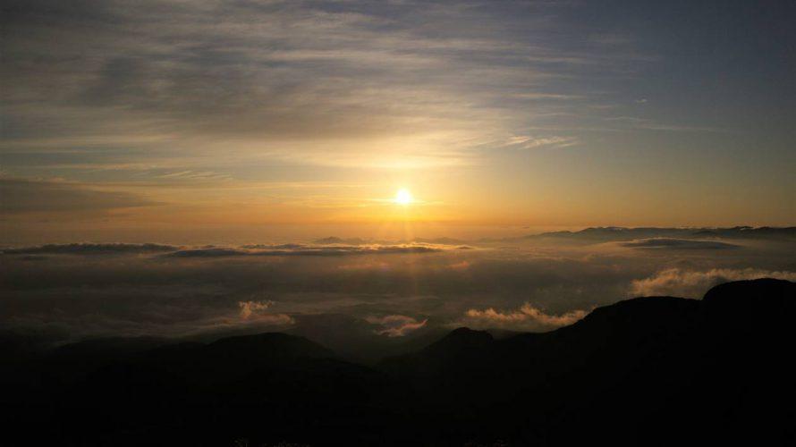 【八ヶ岳】根石岳~天狗岳 ご来光登山(桜平から日帰り)