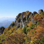 【新潟】金城山 紅葉登山 断崖絶壁の岩峰と大展望!