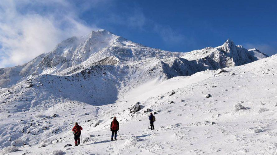 【雪山】安達太良山・磐梯山・西吾妻山 冬の絶景登山
